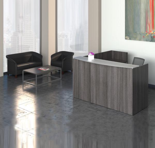 Skyline Reception with Blandford sofa and club chair