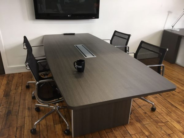"""8' x 42"""" Conference Table (One Grommet)"""