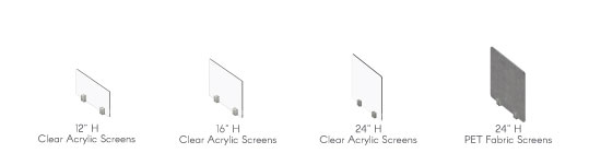 Gateway Social Distancing Screens