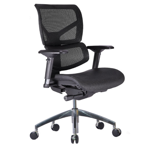 The Vito in Black by Gateway Office Furniture