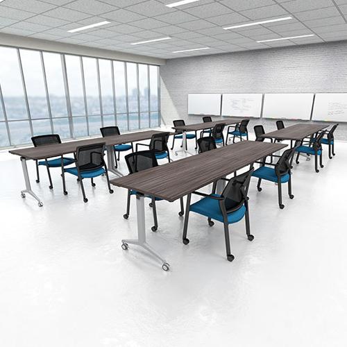 Flip Top Training Tables