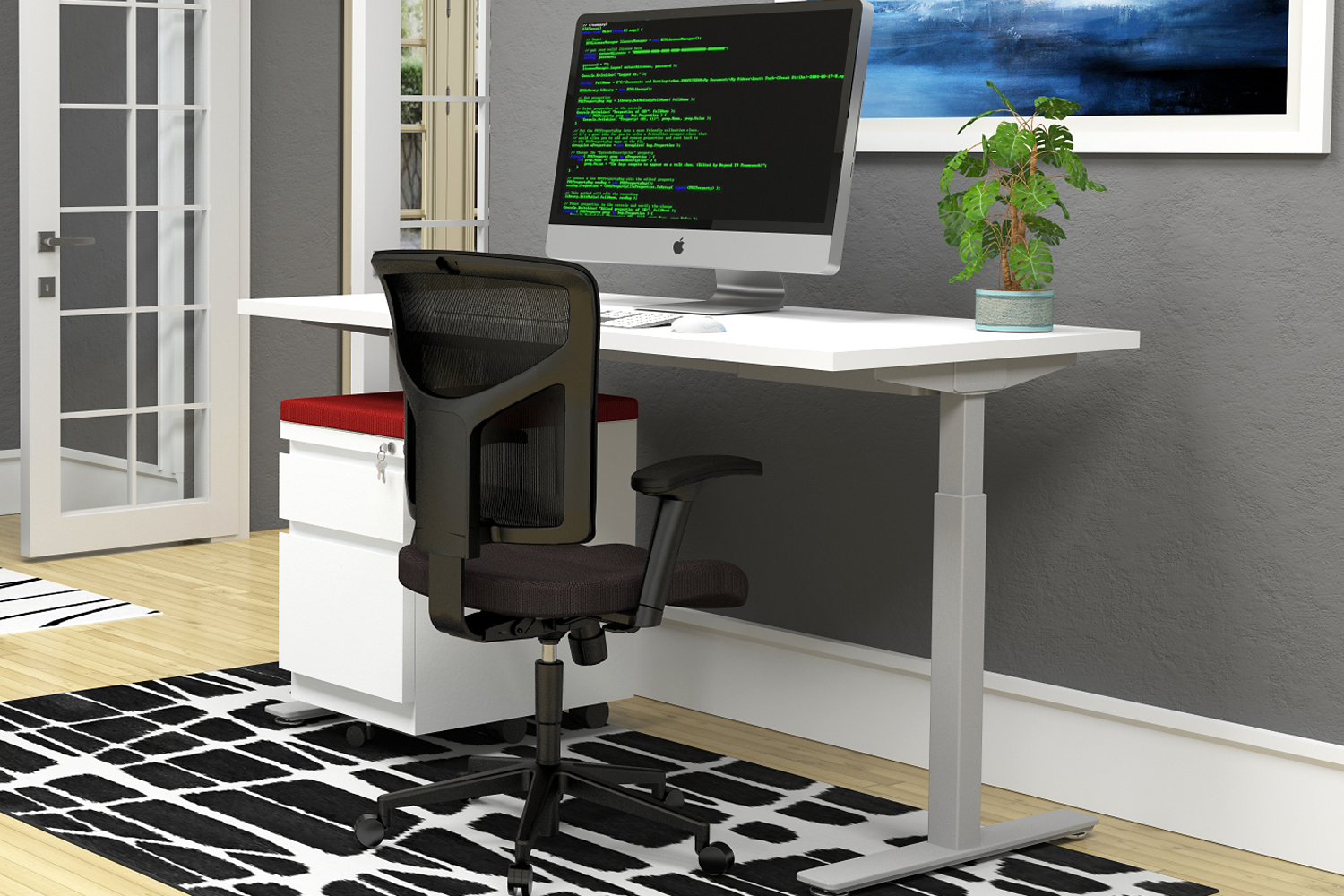 Height Adjustable by Gateway Office Furniture