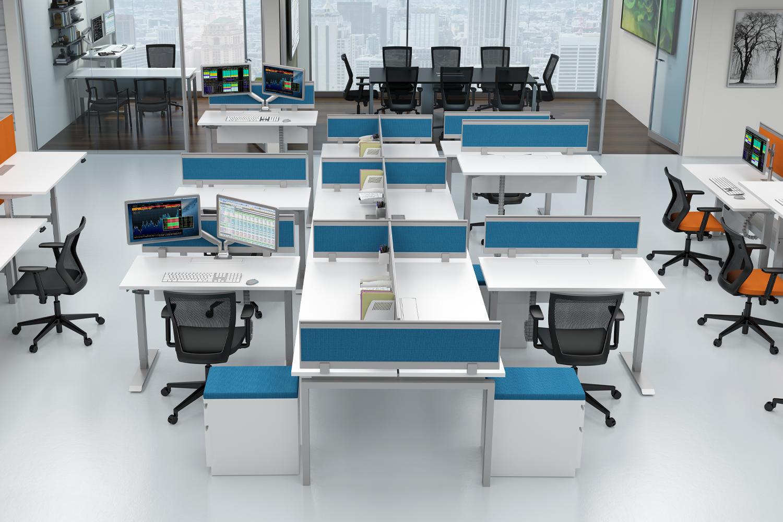 Open Floor Plan by Gateway Office Furniture